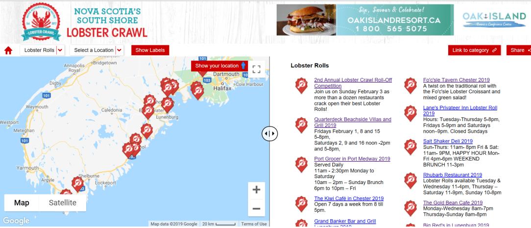 www.LobsterCrawl.ca